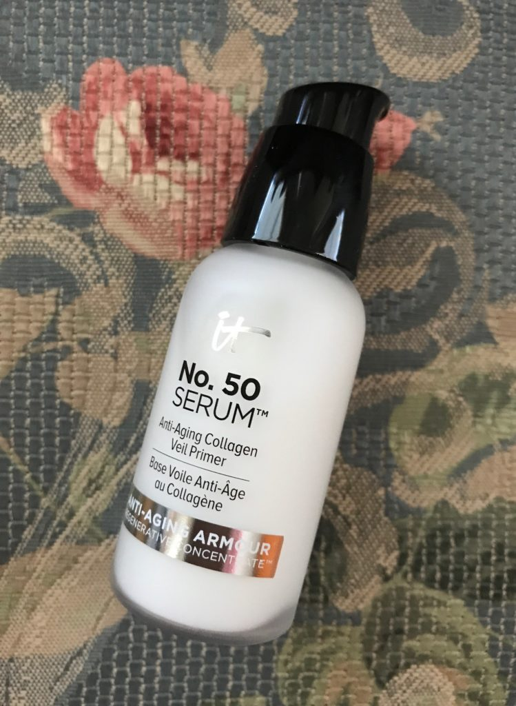 IT Cosmetics No. 50 Serum pump bottle, neversaydiebeauty.com