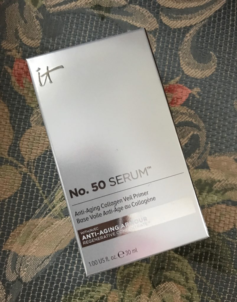 IT Cosmetics No. 50 Serum box, neversaydiebeauty.com