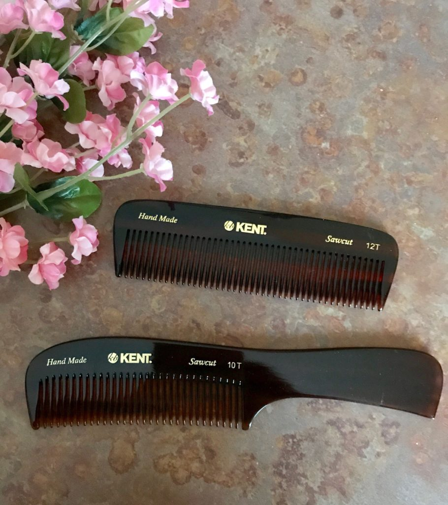 Kent of London combs: rake 10T and pocket comb 12T, neversaydiebeauty.com