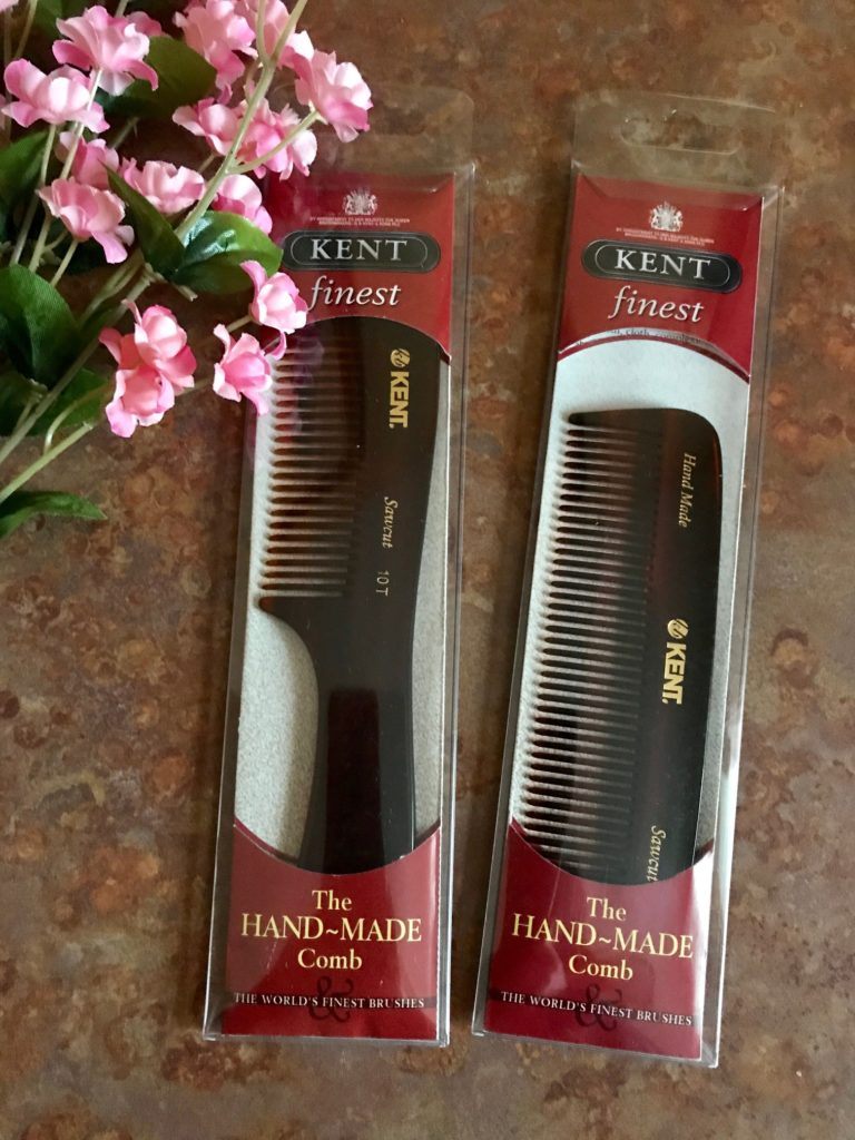 Kent of London combs in their packaging, neversaydiebeauty.com