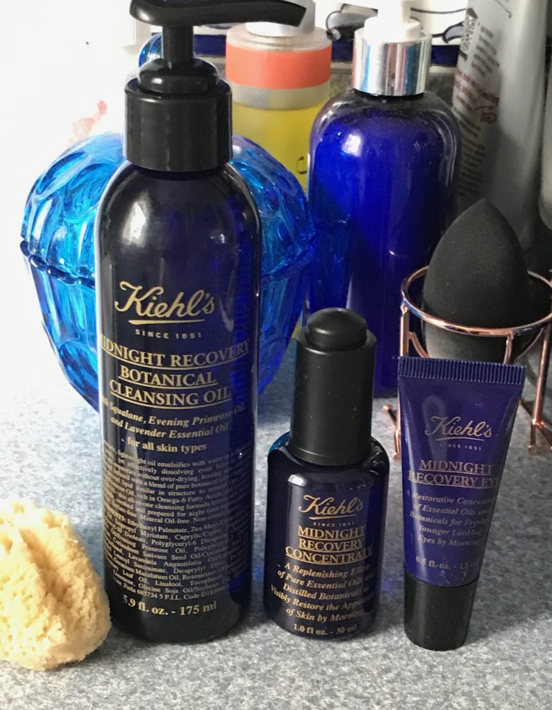 Kiehls Midnight Recovery skincare collection, neversaydiebeauty.com