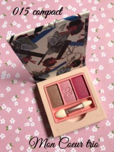 Paul & Joe Eye Color Trio Mon Coeur in 015 compact, neversaydiebeauty.com