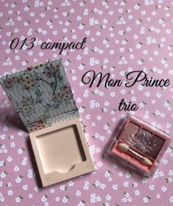 Paul & Joe limited edition compact and Eye Trio that firs into the compact, neversaydiebeauty.com
