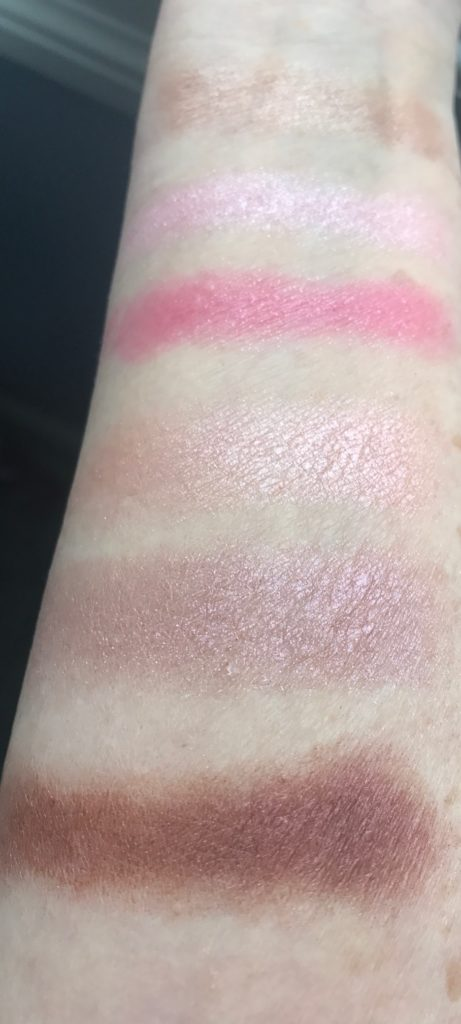 Paul & Joe Eye Color Trios, Mon Coeur and Mon Prince swatches, neversaydiebeauty.com