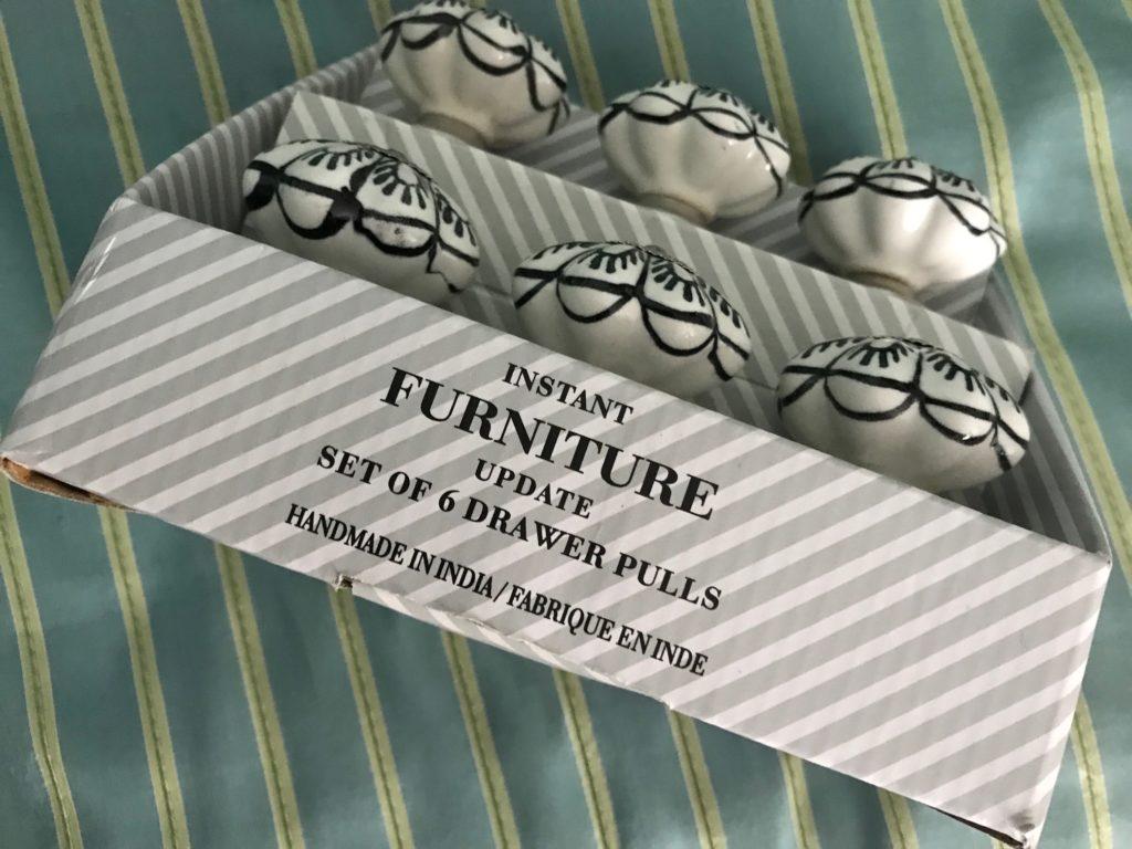 drawer pulls, branding information, neversaydiebeauty.com