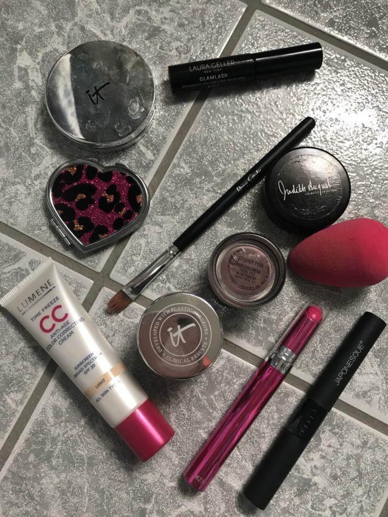 everyday sprint makeup, neversaydiebeauty.com