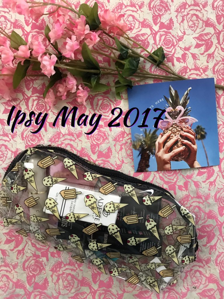 Ipsy Glam Bag, Summer Friday, for May 2017, neversaydiebeauty.com