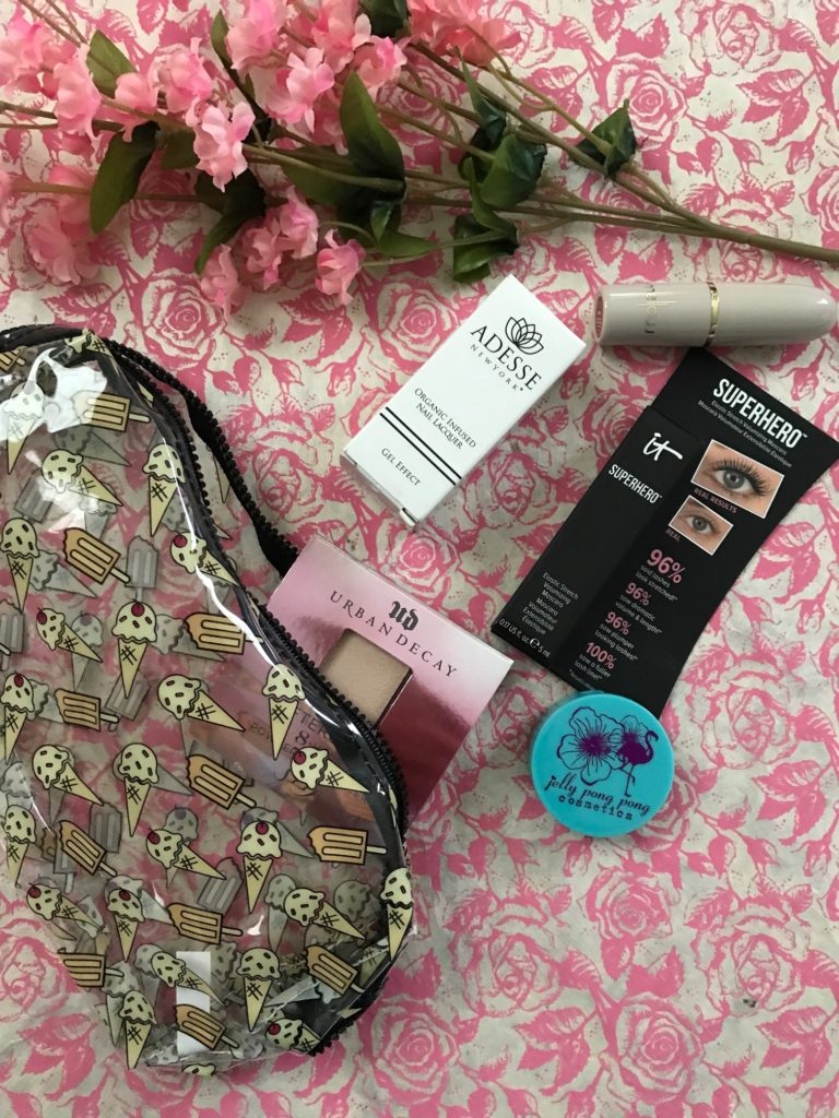 Ipsy bag and cosmetics, May 2017 Summer Friday, neversaydiebeauty.com