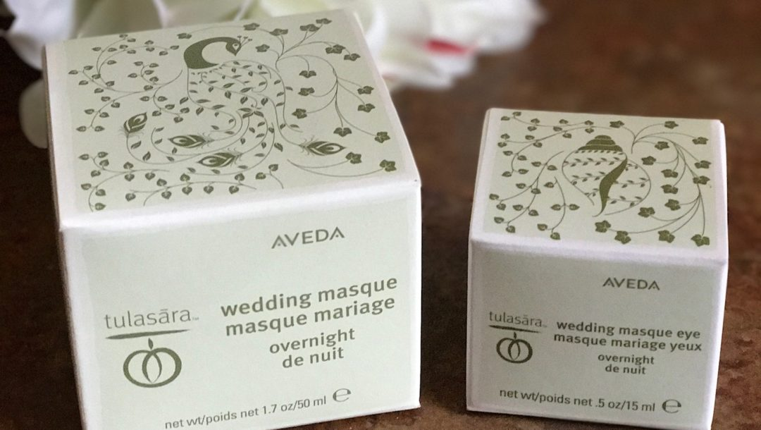 Aveda Tulasara Masque outer packaging, neversaydiebeauty.com