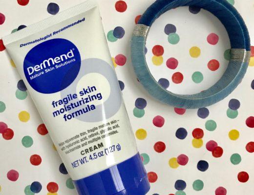 DerMend Fragile Skin Moisturizing Formula, tube, neversaydiebeauty.com