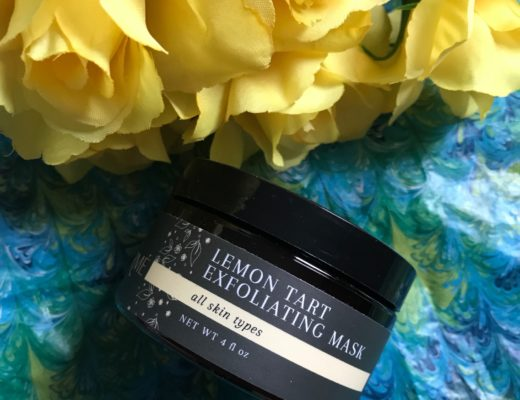 Laurme Lemon Tart Exfoliating Mask jar, neversaydiebeauty.com