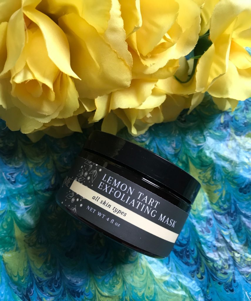 Laurme Lemon Tart Exfoliating Mask jar, neversaydiebeauty.com