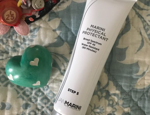 Marini Physical Protectant SPF 45 tube, neversaydiebeauty.com