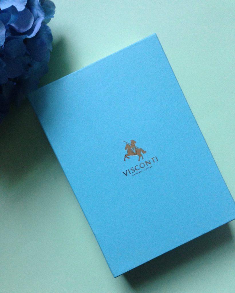 Visconti wallet gift box, neversaydiebeauty.com