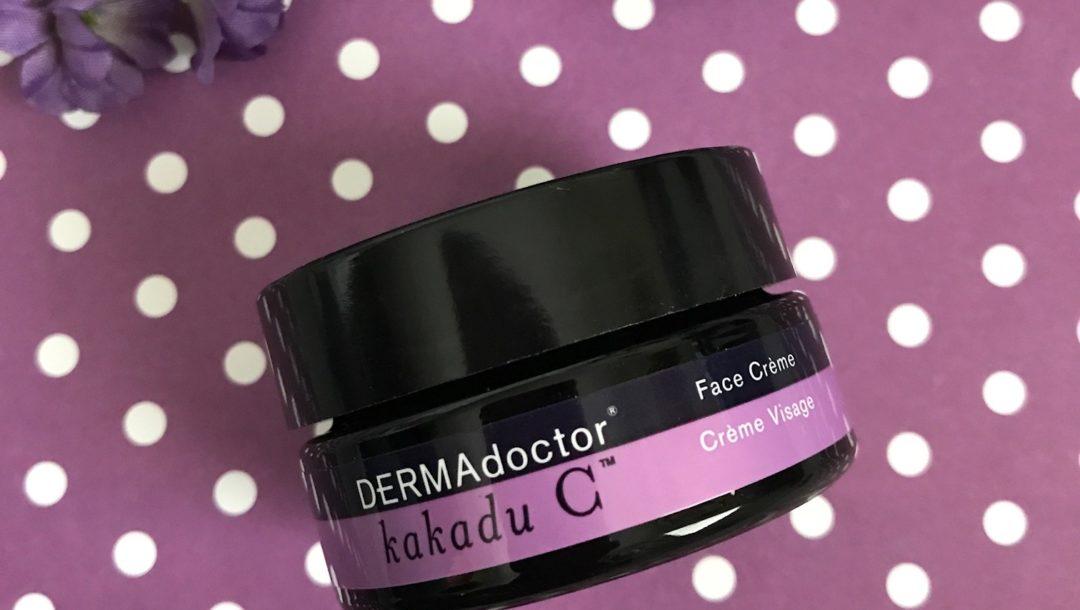 DERMAdoctor Kakadu C Face Cream jar, neversaydiebeauty.com