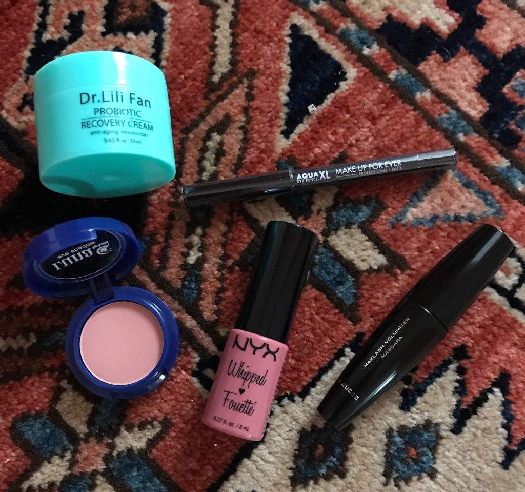 makeup from ipsy Volume Up glam bag for June 2017, neversaydiebeauty.com