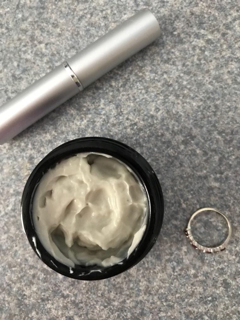 open jar of DERMAdoctor Kakadu C Face Cream, neversaydiebeauty.com