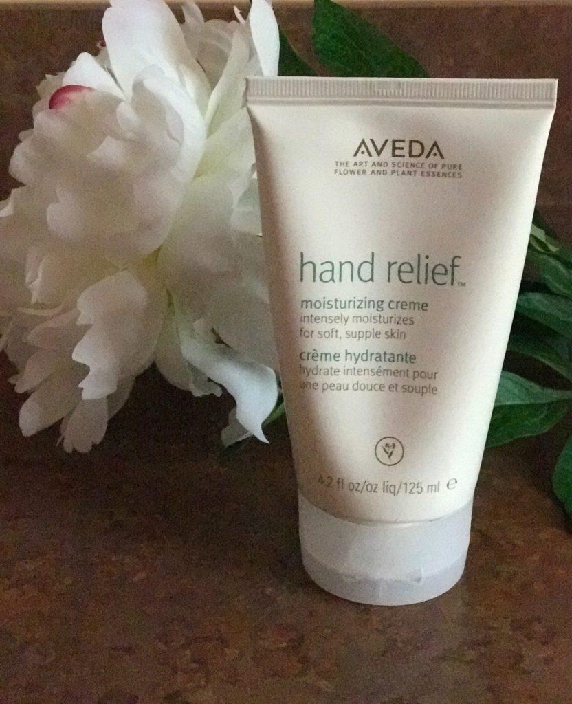 Aveda Hand Relief tube, neversaydiebeauty.com
