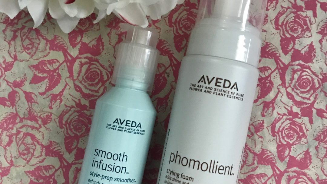 Aveda Smooth Illusion Style-Prep & Phomollient Styling Foam haircare products, neversaydiebeauty.com