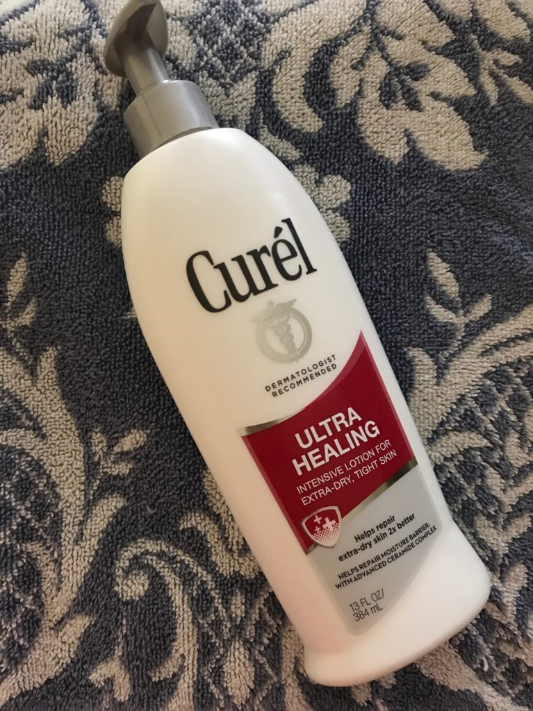 Curel ultra Healing lotion, neversaydiebeauty.com