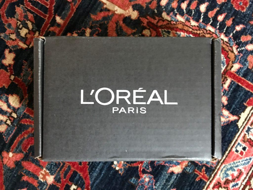 L'Oreal box from Influenster, neversaydiebeauty.com