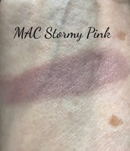 MAC Paint Pot swatch in Stormy Pink, neversaydiebeauty.com