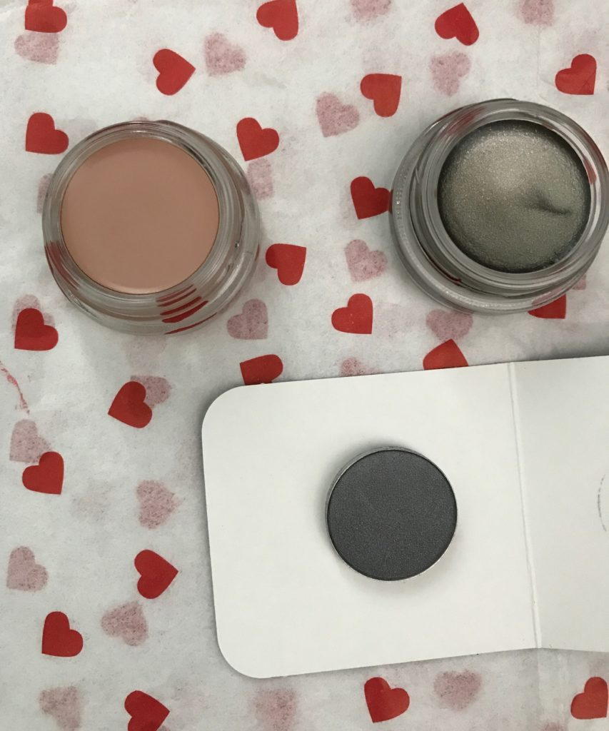 MAC Paint Pots - Painterly & Antique Diamond, and powder shadow, Silver Ring, neversaydiebeauty.com