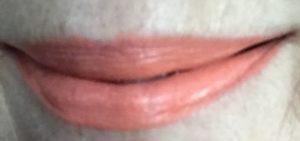 MAC Satin Lipstick, shade Sushi Kiss swatch, neversaydiebeauty.com
