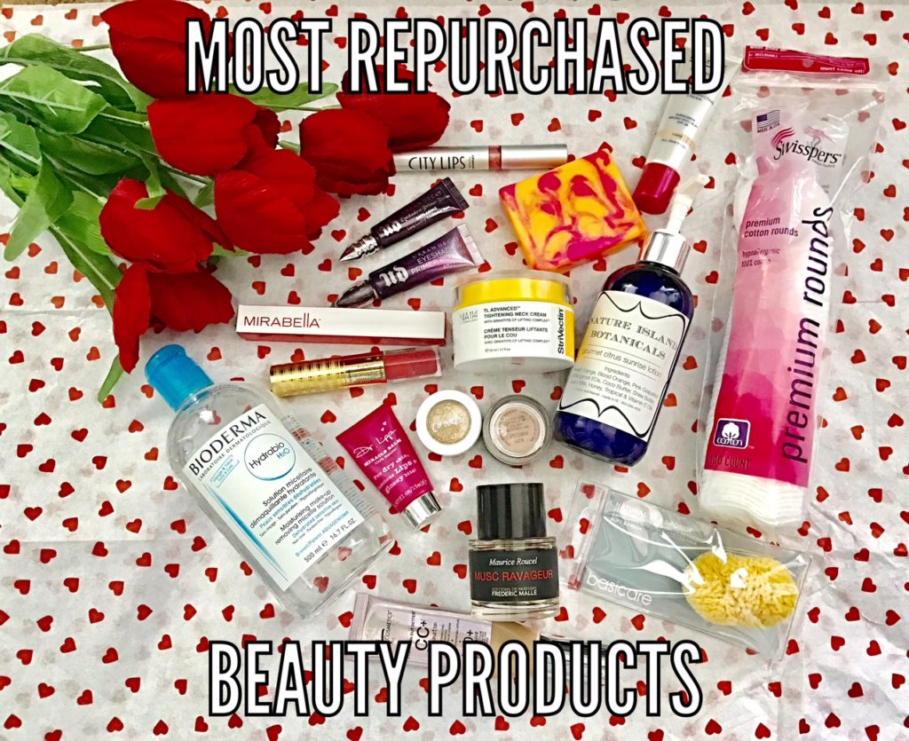 my most repurchased beauty products, neversaydiebeauty.com
