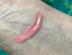 NARS Liquid Blush, Orgasm swatch, neversaydiebeauty.com