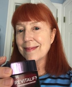 me after using L'Oreal Revitalift Triple Power Moisturizer for 4 weeks, neversaydiebeauty.com