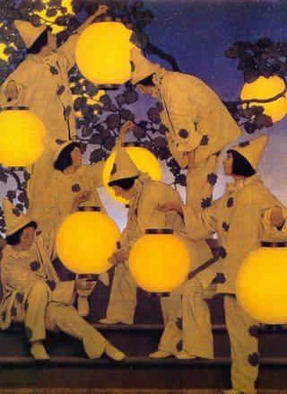 Maxfield Parrish, The Lantern Bearers