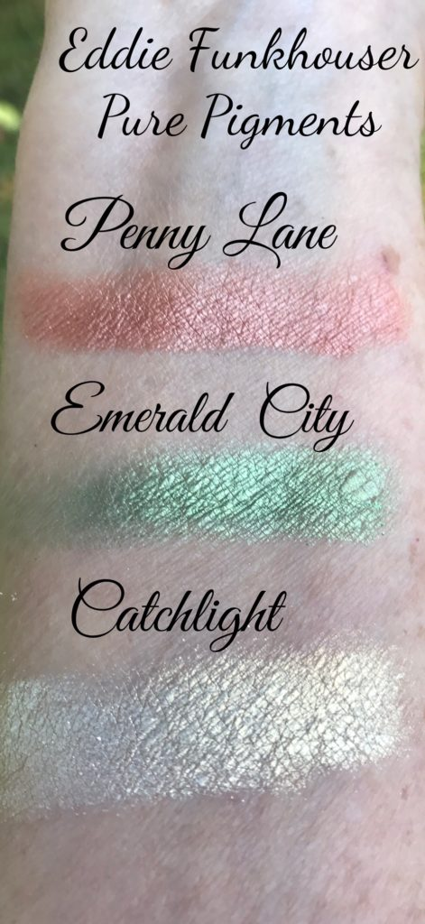 Eddie Funkhouse Hyperreal Pure Pigments swatches, neversaydiebeauty.com