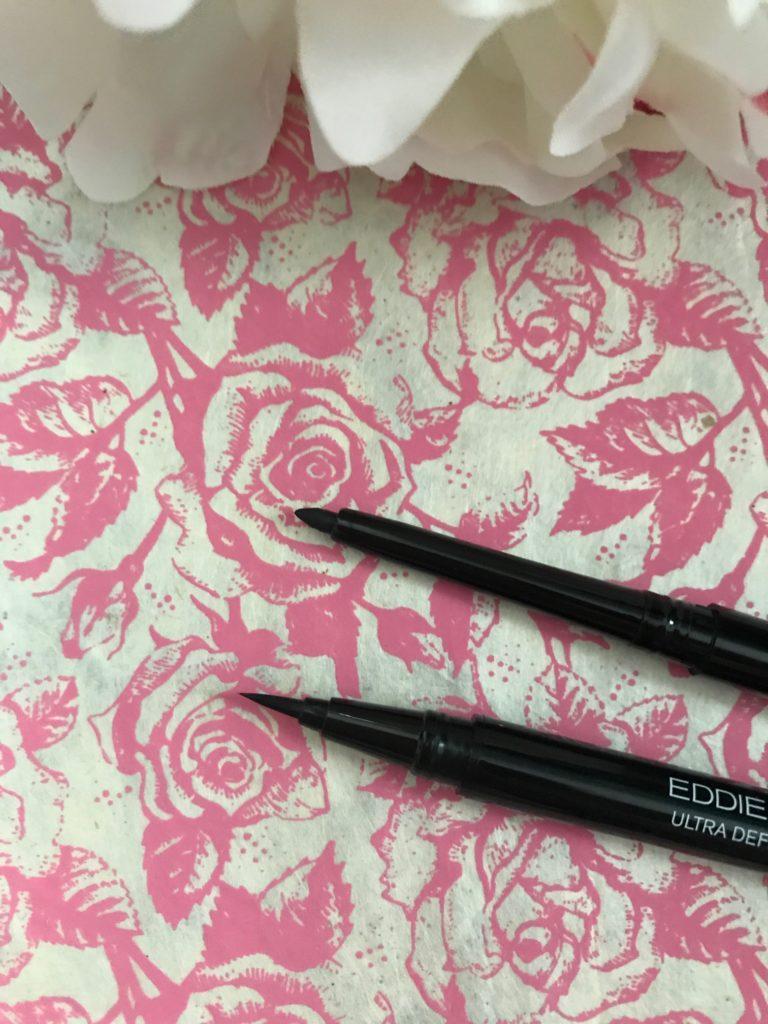 Eddie Funkhouser pencil and liquid eyeliner tips, neversaydiebeauty.com