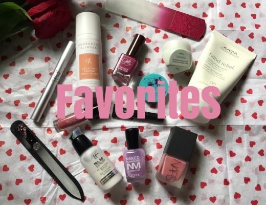 my current favorite beauty products, neversaydiebeauty.com