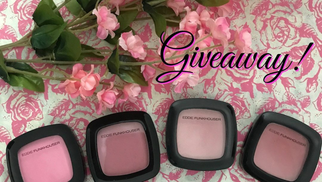 Eddie Funkhouser Ultra Intensity Cheek Singles giveaway, neversaydiebeauty.com