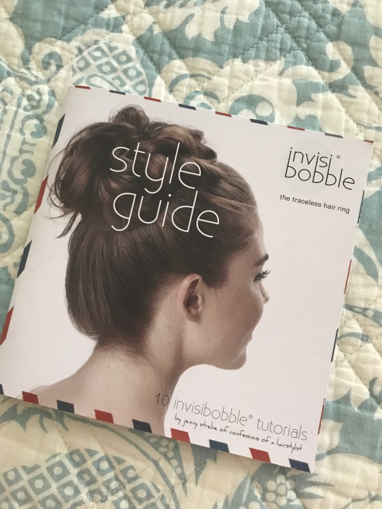 Invisibobble hair styling guide, neversaydiebeauty.com