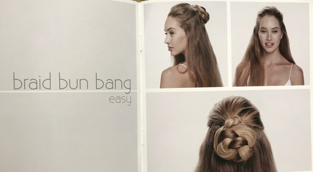Invisibobble hairstyle, neversaydiebeauty.com