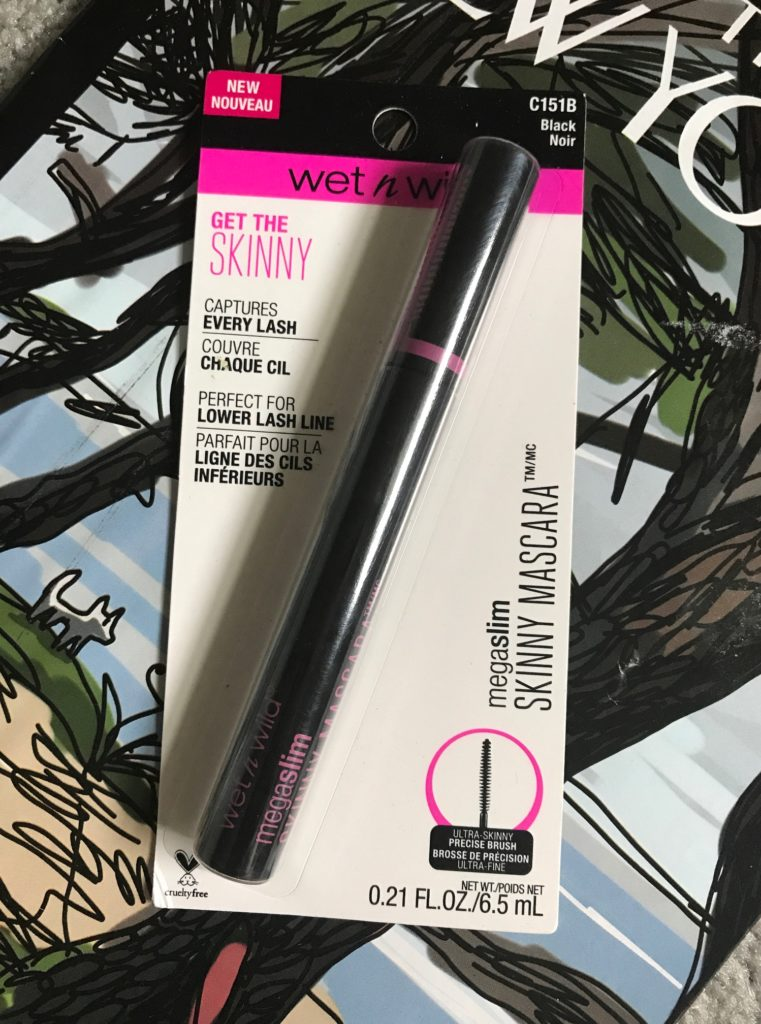Wet N Wild Megaslim Skinny Mascara in it packaging, neversaydiebeauty.com