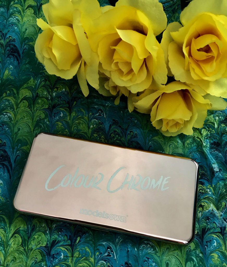 ModelsOwn Colour Chrome rose gold metallic eyeshadow palette, neversaydiebeauty.com
