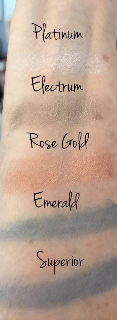 swatches ModelsOwn Colour Chrome palette, neversaydiebeauty.com