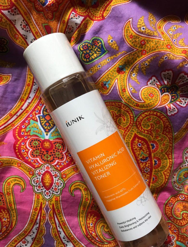 IUNIK Vitamin Hyaluronic Acid Vitalizing Toner, neversaydiebeauty.com
