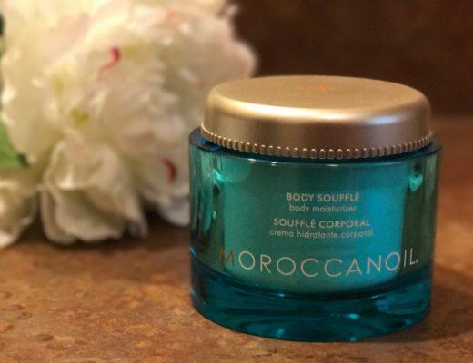 jar of MoroccanOil Body Souffle in Fragrance Originale, neversaydiebeauty.com