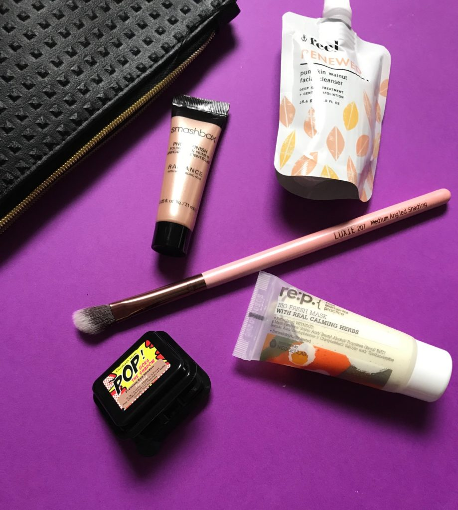 "contents of Ipsy ""Like. A. Boss"" bag September 2017, neversaydiebeauty.com"