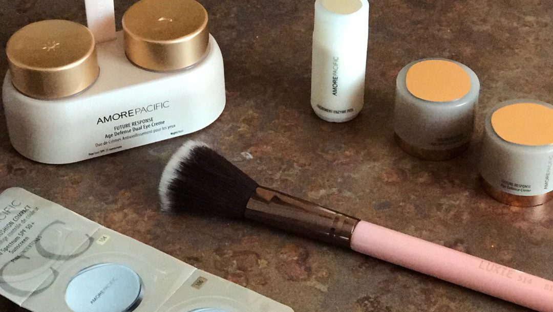 AmorePacific Future Response Age Defense Kit samples, neversaydiebeauty.com
