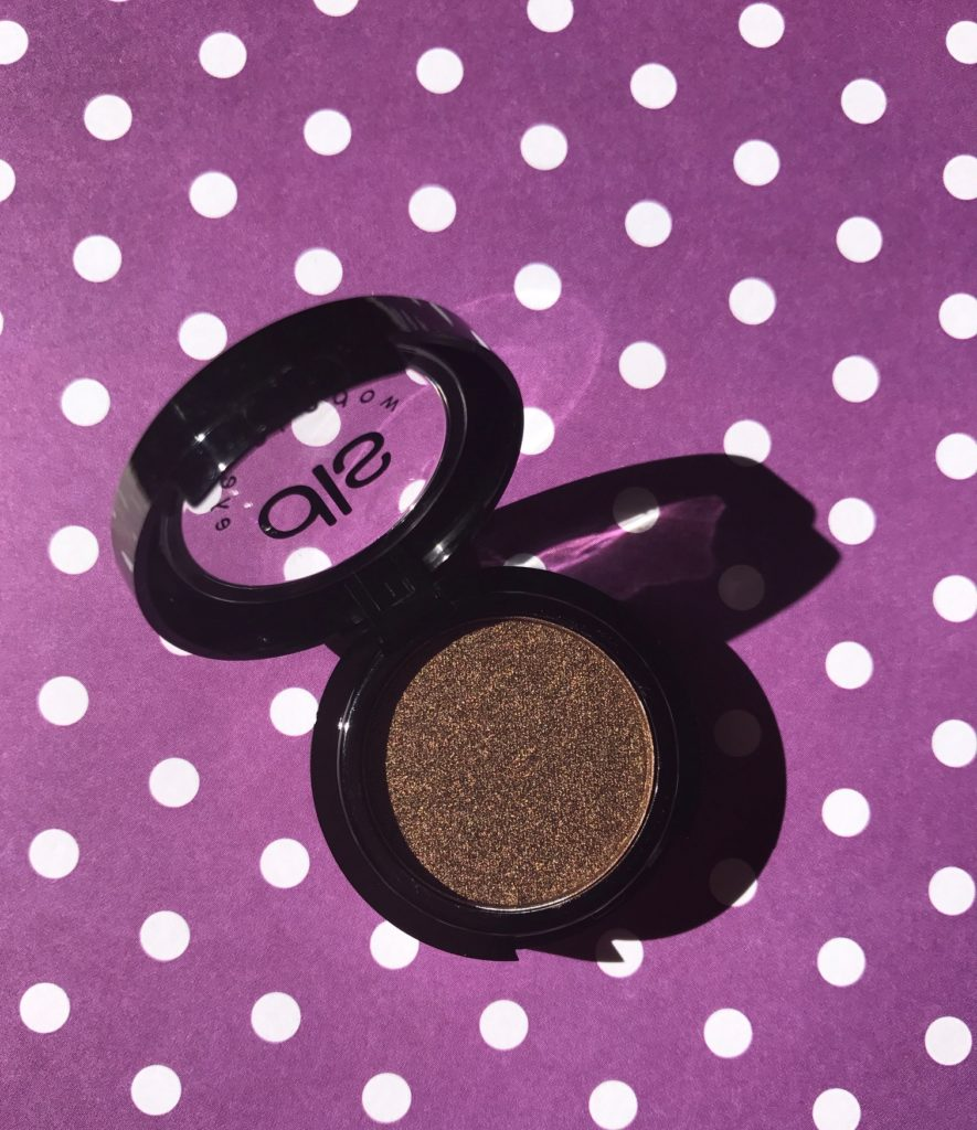 Dirty Little Secrets pressed powder eyeshadow in shade, Bronzed, neversaydiebeauty.com