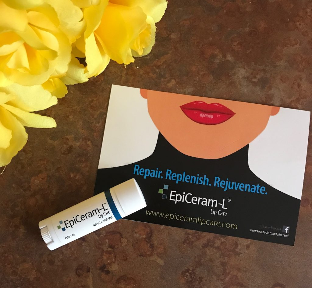 EpiCeram-L Lip Care in an oval tube, neversaydiebeauty.com