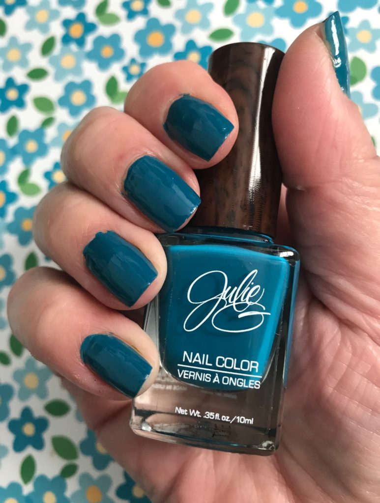 Julie G Nail Color, Bohemian collection, Karma, neversaydiebeauty.com