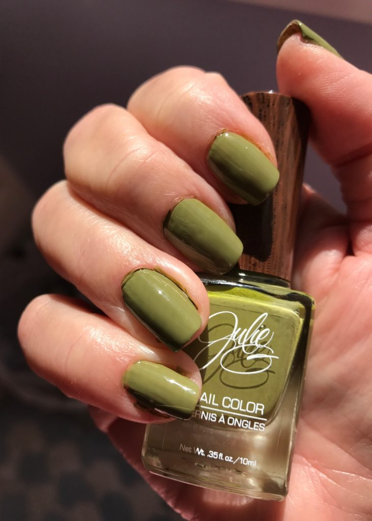 Julie G Nail Color, Bohemian collection, Eden nails in sunlight, neversaydiebeauty.com