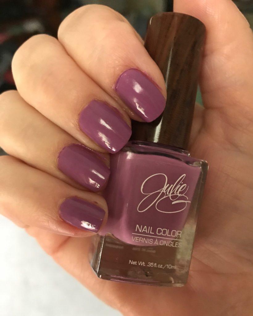 Julie G Nail Color, Bohemian collection, Faith, neversaydiebeauty.com